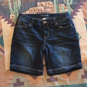 NWOT MAURICES BLUE JEAN SHORTS